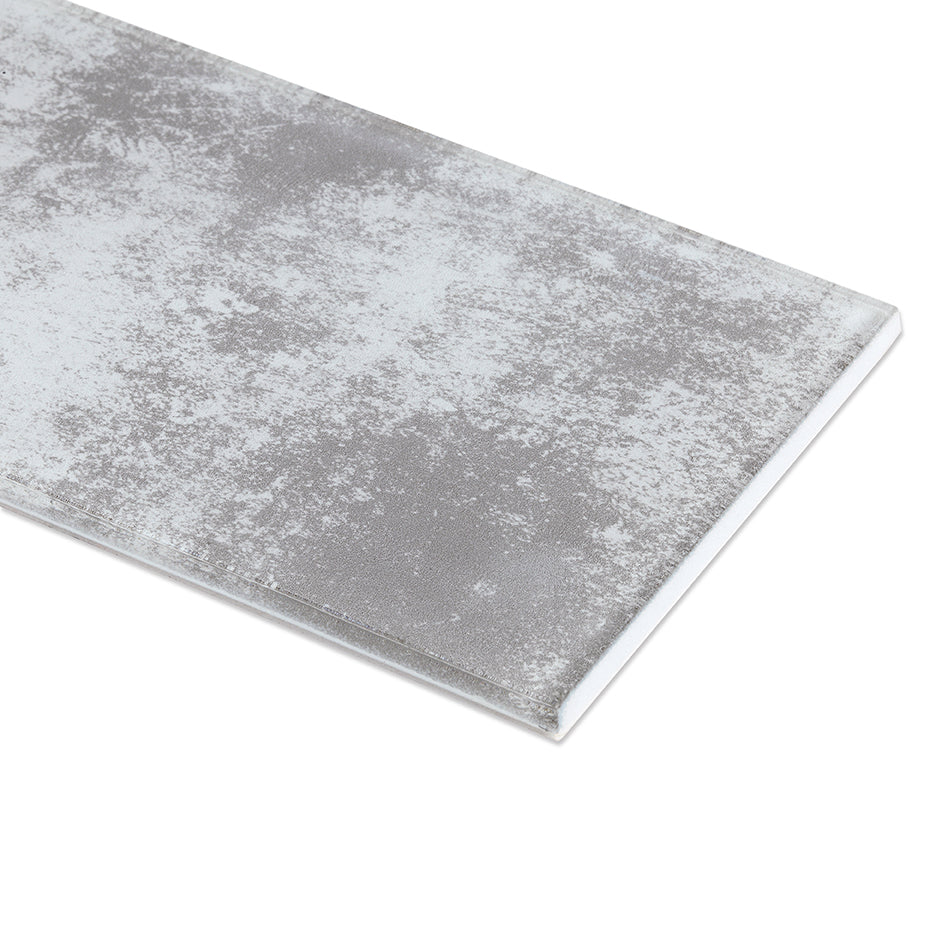 ProntoMosaic Concrete Glass Subway 3'' x 6'' (24-pack / 3 sq.ft.)