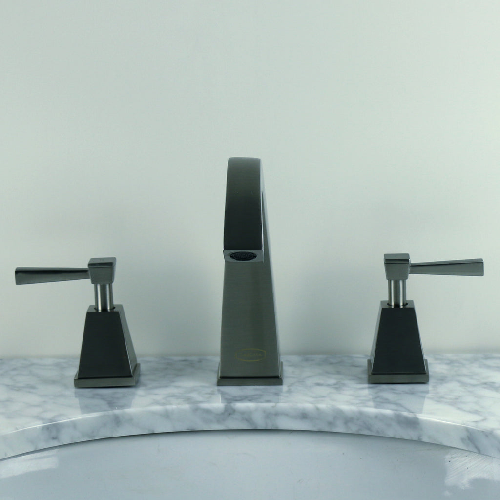 Brushed Nickel Small Gooseneck Bathroom Faucet