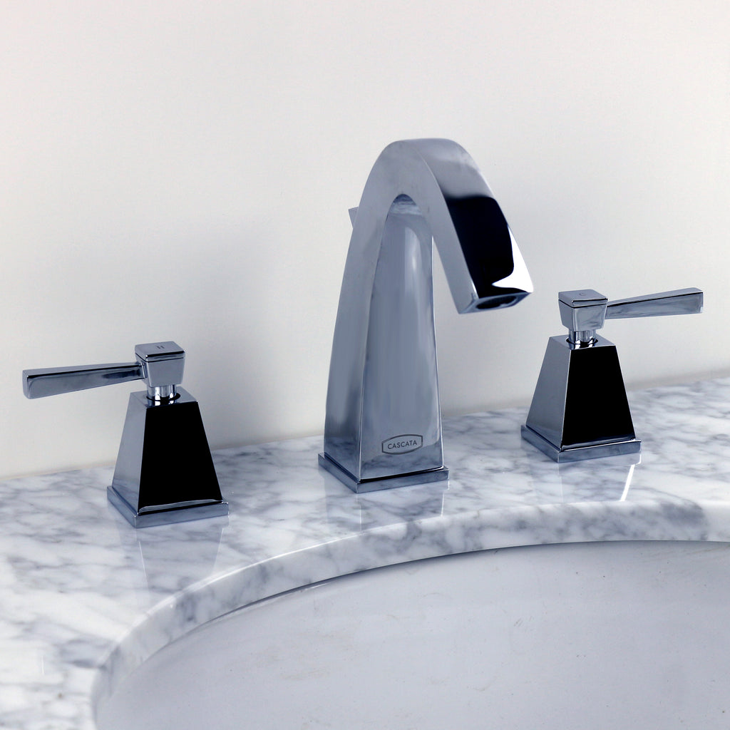 Chrome Small Gooseneck Bathroom Faucet