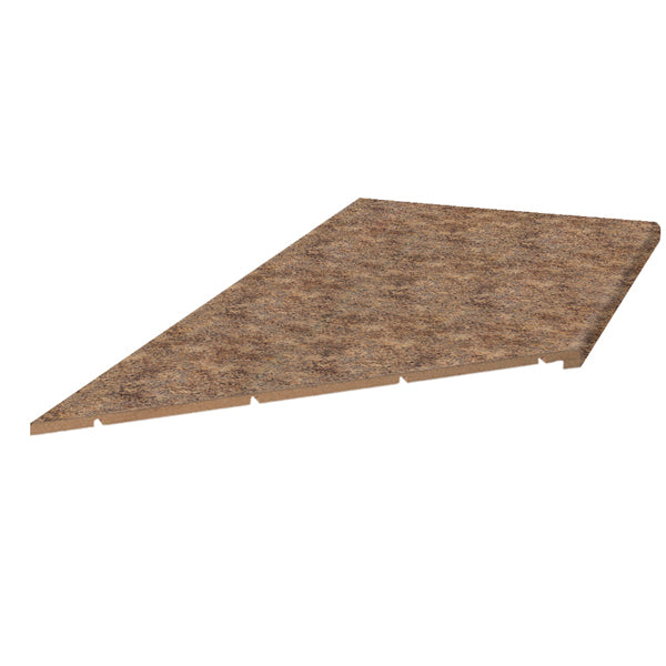 Butterum Granite 6' Left Miter Countertop