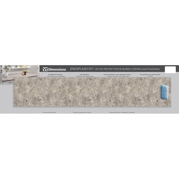 Belmonte Granite End Splash Kit