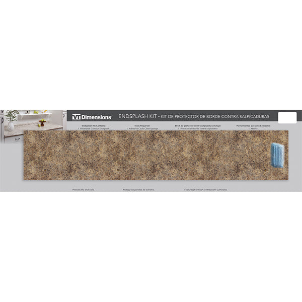 Butterum Granite End Splash Kit