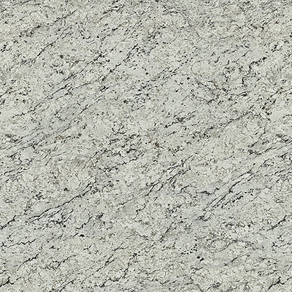 White Ice Granite Laminate Countertop Sample