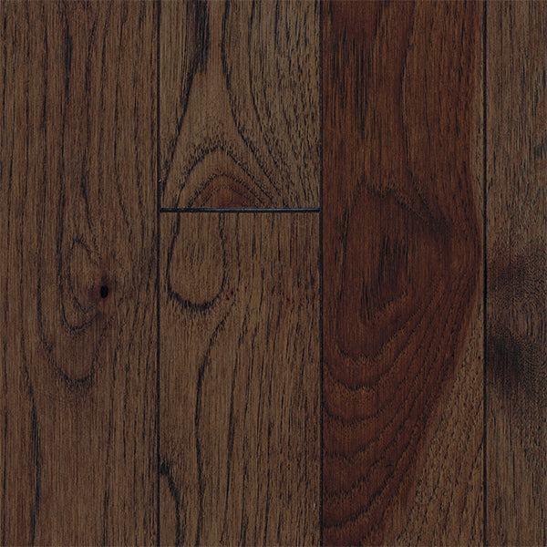 "3/4"" x 3 1/4"" Gracious Home 50 Yr PreFin Solid Natural Glasgow Hickory Hardwood"