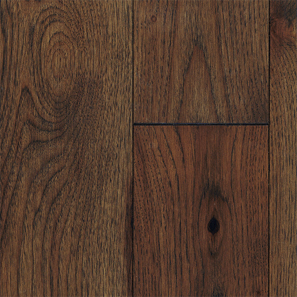 "3/4"" x 5"" Gracious Home 50 Yr PreFin Solid Natural Glasgow Hickory Hardwood"