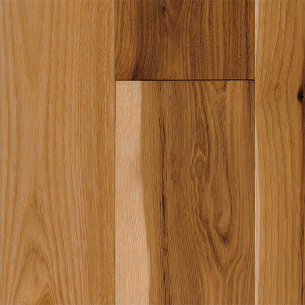 "3/4"" x 5"" Gracious Home 50 Yr PreFin Solid Natural Hickory White Oak Hardwood-Sample"