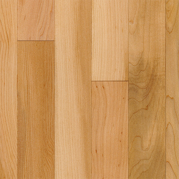 "3/4"" x 2 1/4"" Gracious Home 50 Yr PreFin Solid Natural Maple Hardwood"
