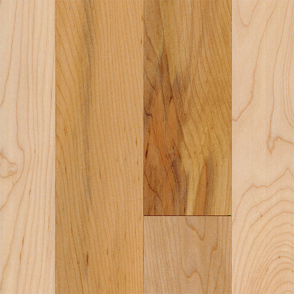 "3/4"" x 3 1/4"" Gracious Home 50 Yr PreFin Solid Natural Maple Hardwood"