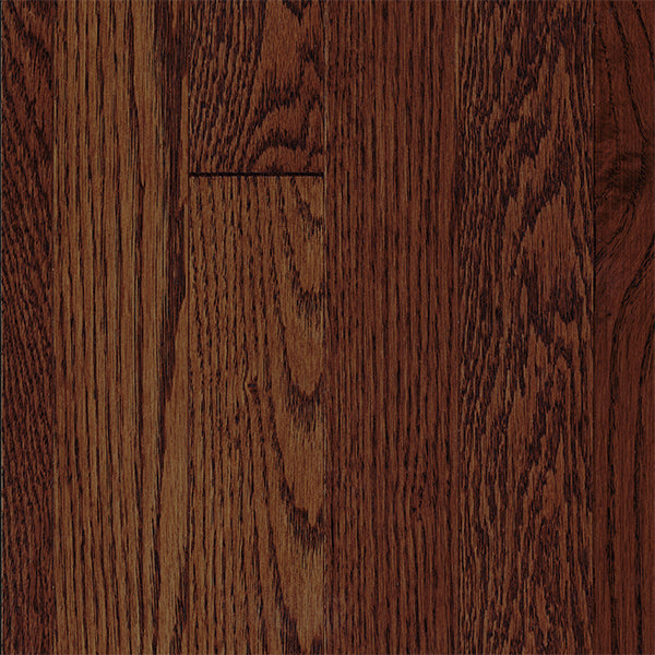 "3/4"" x 2 1/4"" Gracious Home 50 Yr PreFin Solid Natural Gunstock Red Oak Hardwood-Sample"