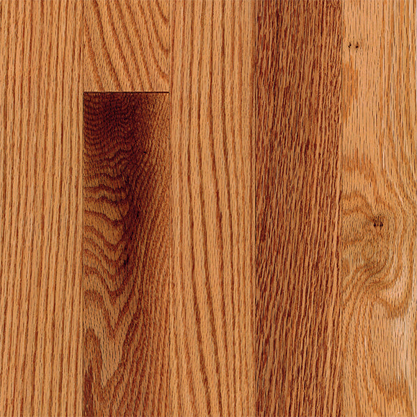 "3/4"" x 2 1/4"" Gracious Home 50 Yr PreFin Solid Natural Red Oak Hardwood-Sample"