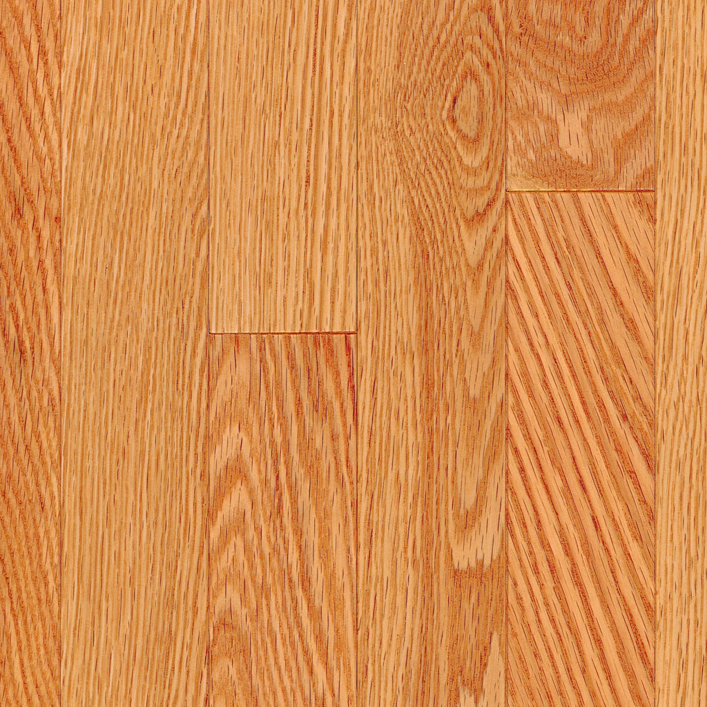 "3/4"" x 2 1/4"" Gracious Home 50 Yr PreFin Solid Select Red Oak Hardwood"