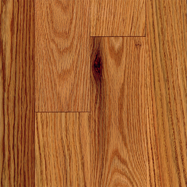 "3/4"" x 3 1/4"" Gracious Home 50 Yr PreFin Solid Natural Red Oak Hardwood-Sample"