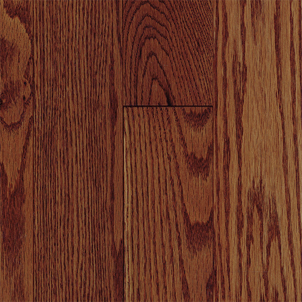 "3/4"" x 5"" Gracious Home 50 Yr PreFin Solid Natural Butterscotch Red Oak Hardwood"
