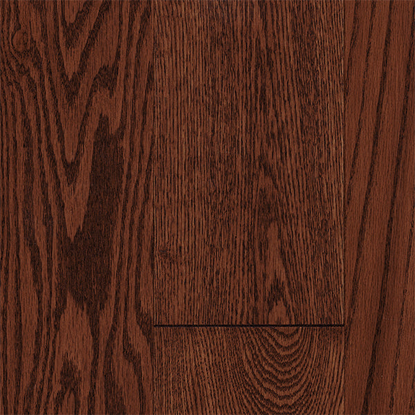 "3/4"" x 5"" Gracious Home 50 Yr PreFin Solid Natural Gunstock Red Oak Hardwood-Sample"