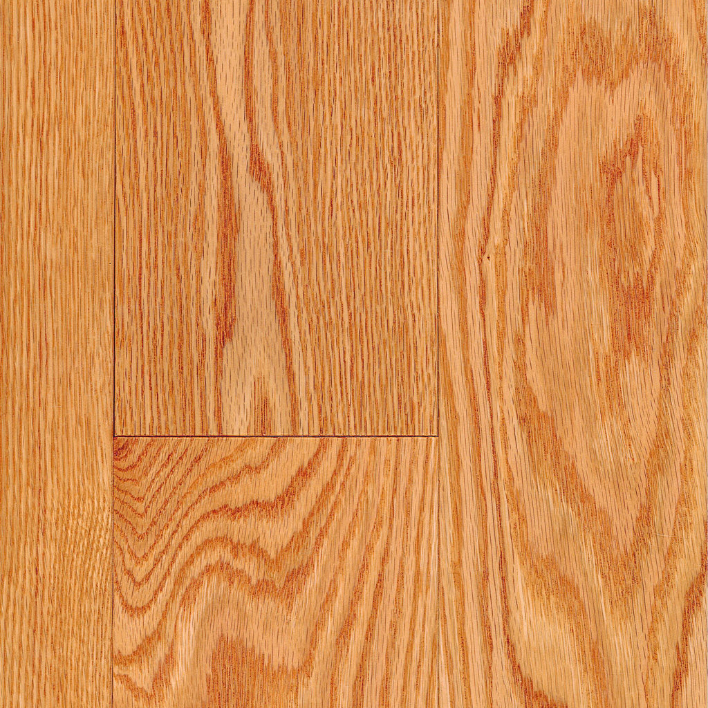 "3/4"" x 5"" Gracious Home 50 Yr PreFin Solid Select Red Oak Hardwood-Sample"