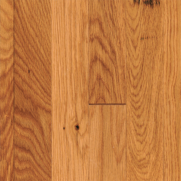 "3/4"" x 2 1/4"" Gracious Home 50 Yr PreFin Solid Natural White Oak Hardwood-Sample"