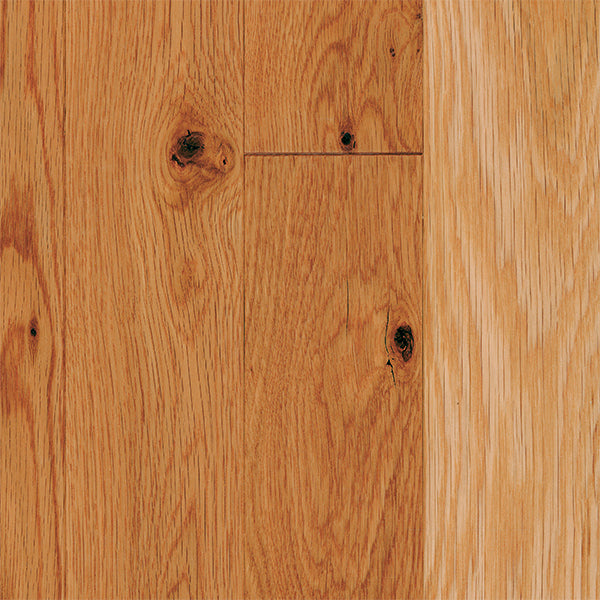 "3/4"" x 3 1/4"" Gracious Home 50 Yr PreFin Solid Natural White Oak Hardwood-Sample"