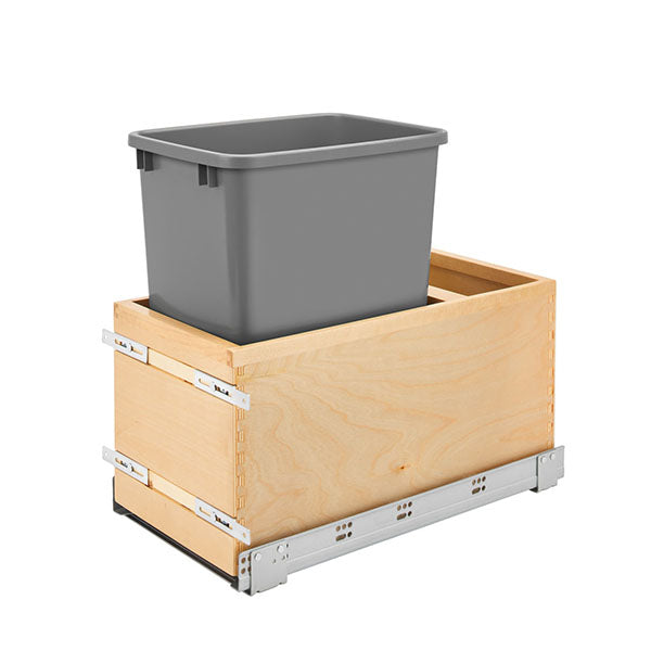 Pull Out Waste Basket Single 15