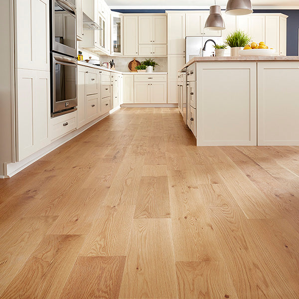 "3/4"" x 8"" Talon 100 Yr PreFin Engineered Country WB White Oak Matte Hardwood"