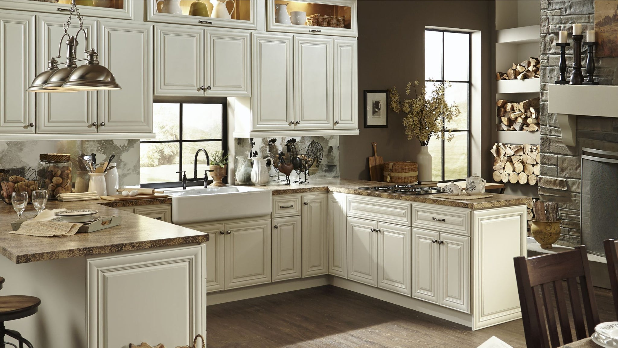 Cabinet Sample - Victoria Ivory