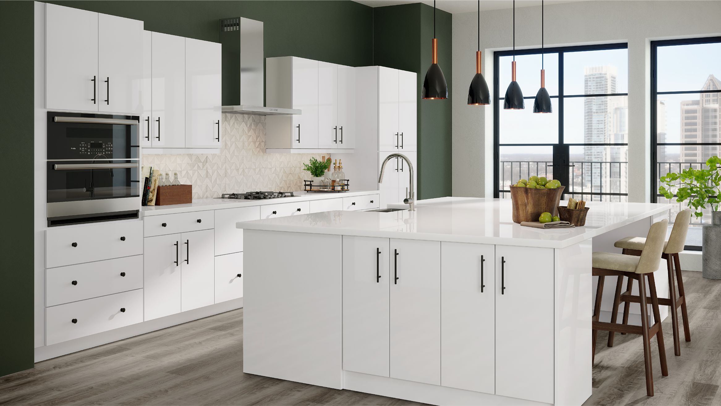 Metro Gloss White Collection Cabinets To Go