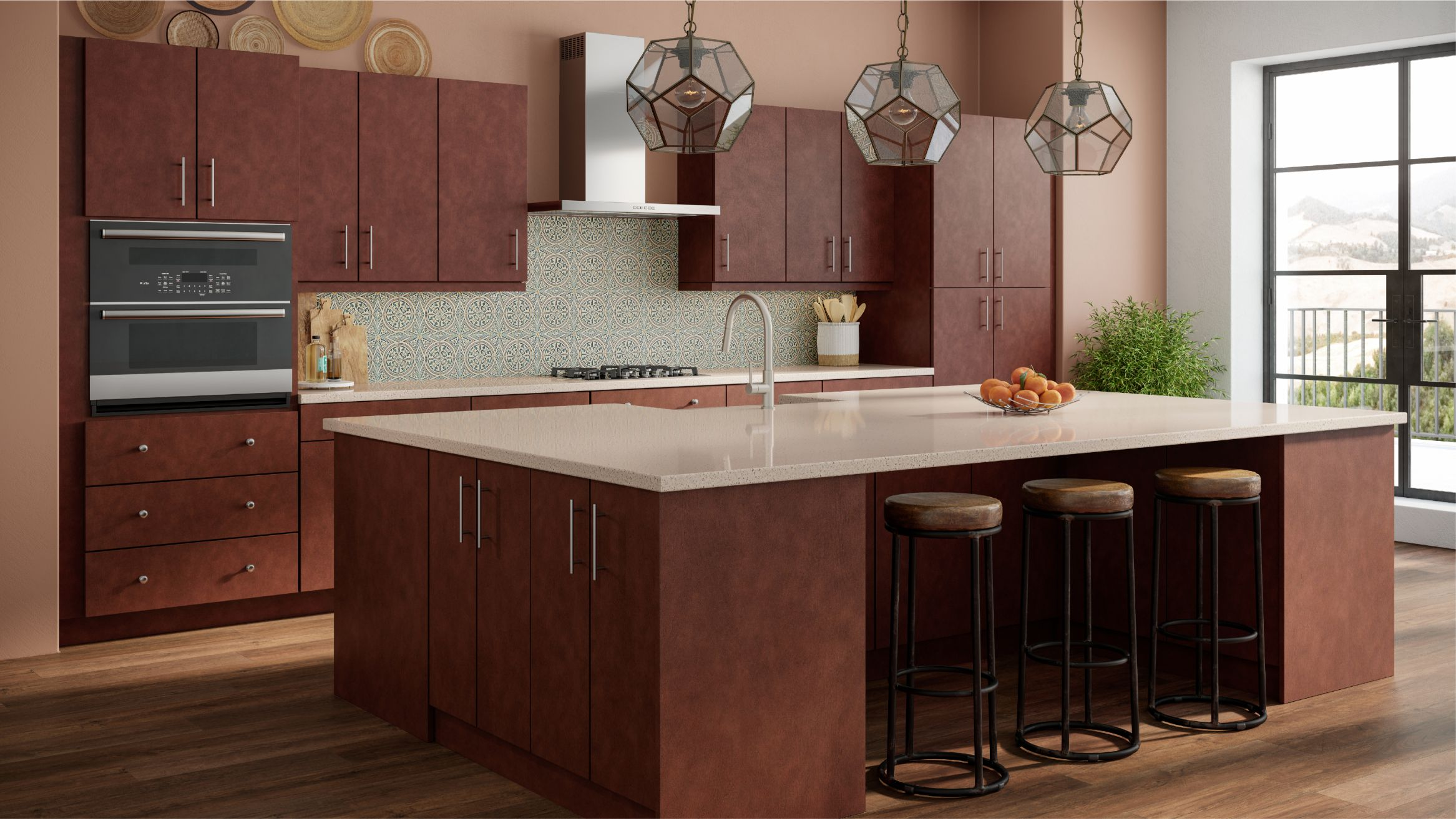 Sedona Canyon Red Collection Cabinets To Go