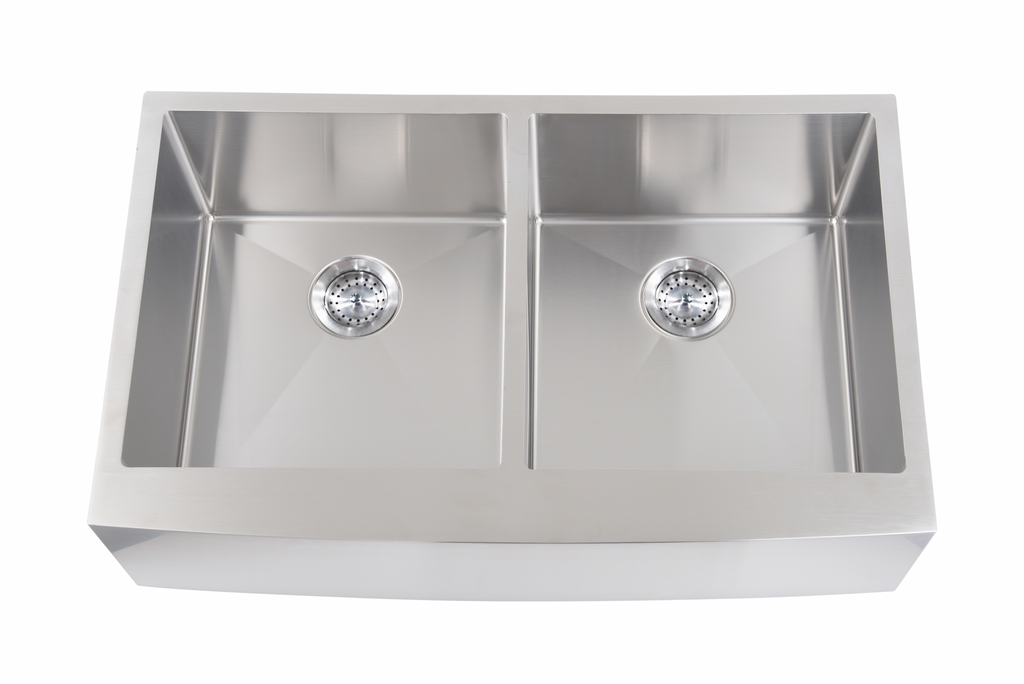 33'' Farmhouse Sink Double Basin