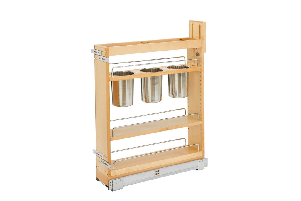 Pull Out 5'' Utensil Organizer