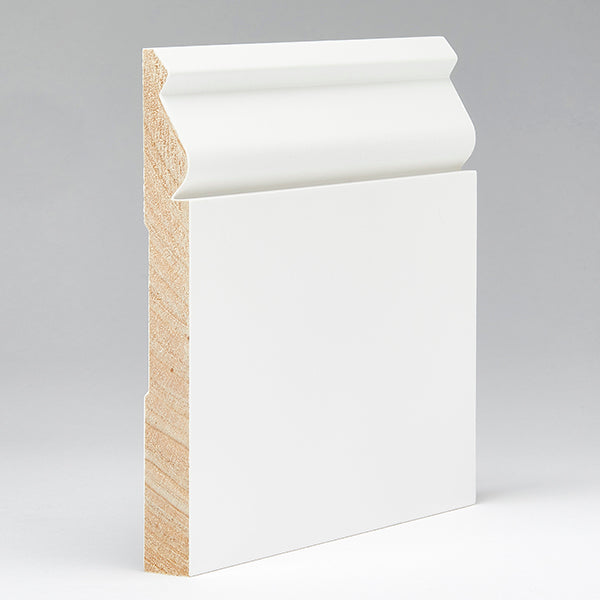 White Painted Baseboard Molding (525)