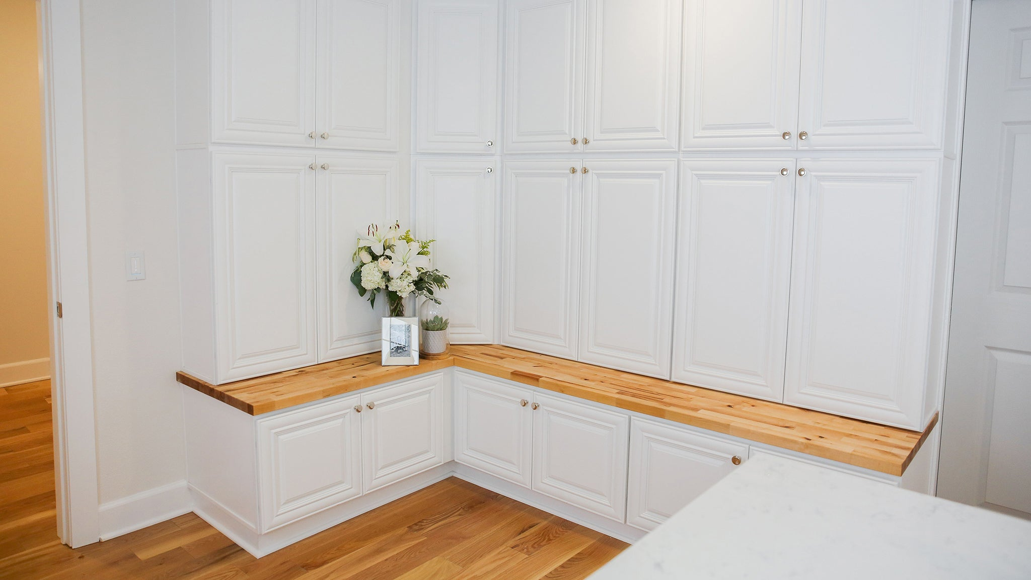 Cabinet Sample - Aspen White