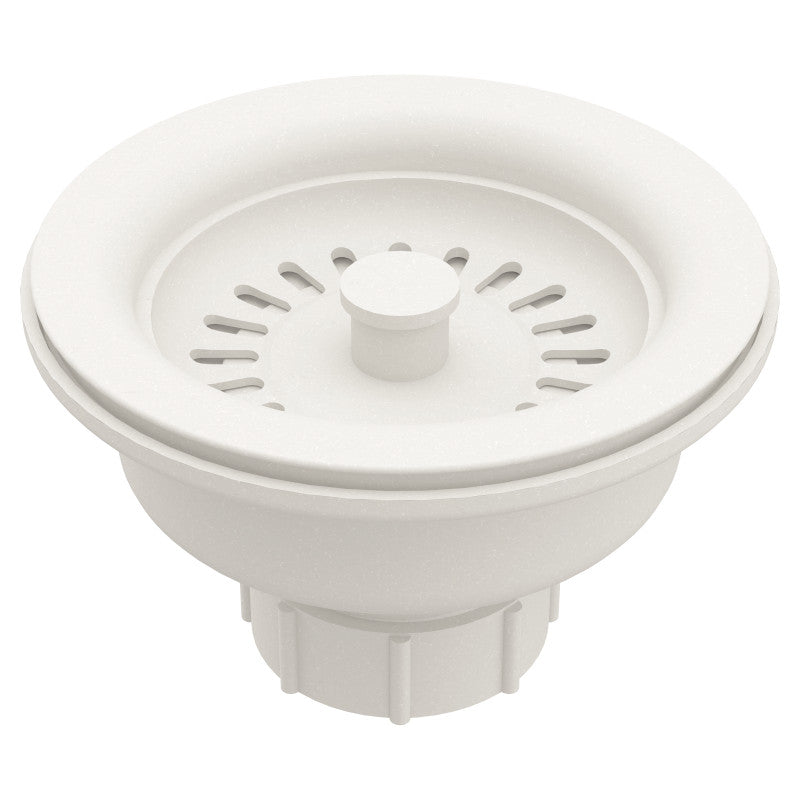 MOEN® White Basket and Drain