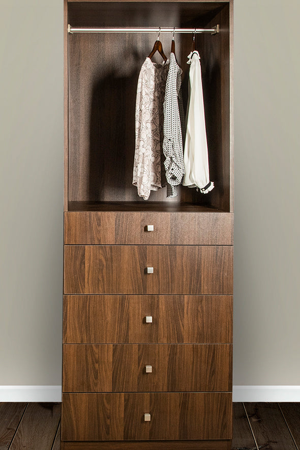 Gracious Home Five Drawer Closet