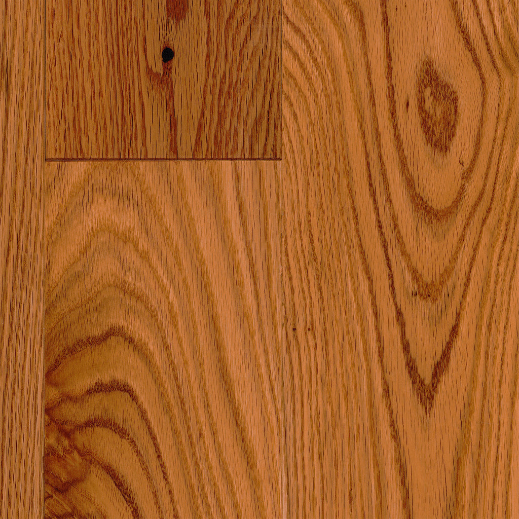"3/4"" x 5"" Gracious Home 50 Yr PreFin Solid Natural Red Oak Hardwood-Sample"