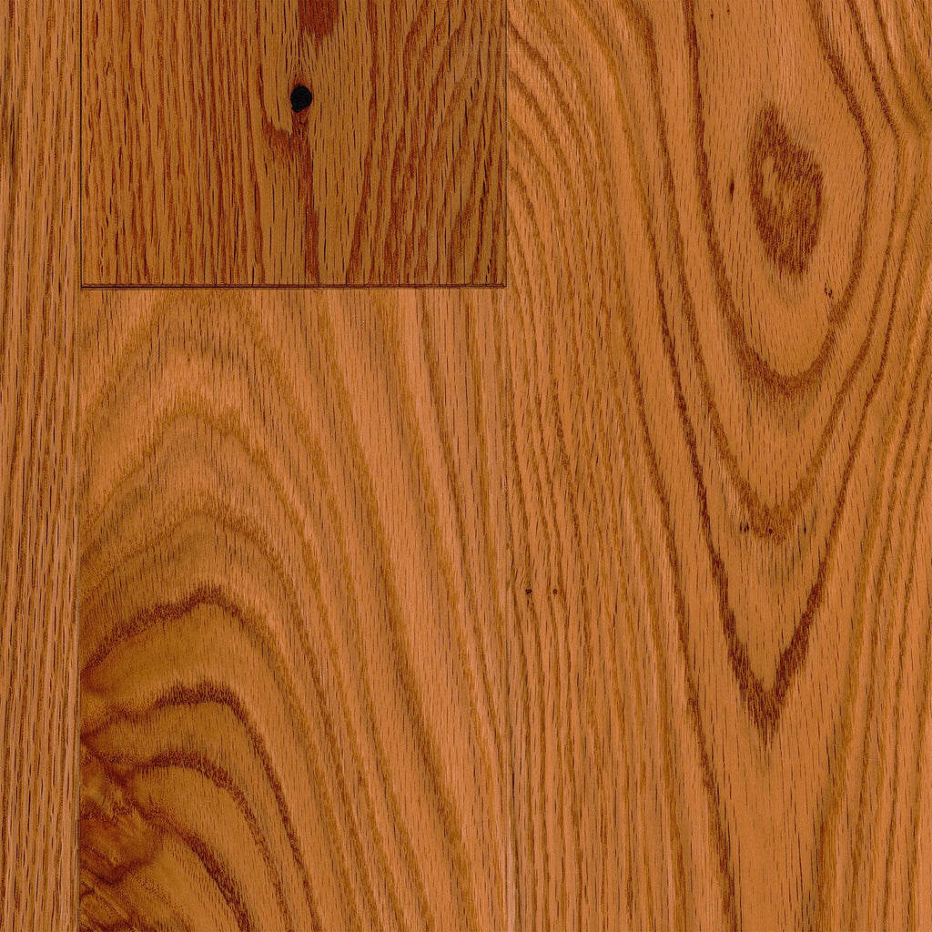 "3/4"" x 5"" Gracious Home 50 Yr PreFin Solid Natural Red Oak Hardwood"