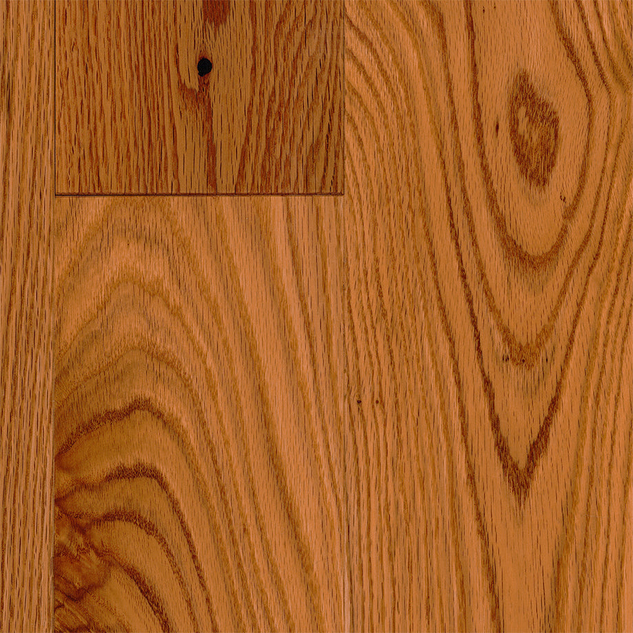 "3/4"" x 5"" Gracious Home 50 Yr PreFin Solid Natural Gunstock Red Oak Hardwood"