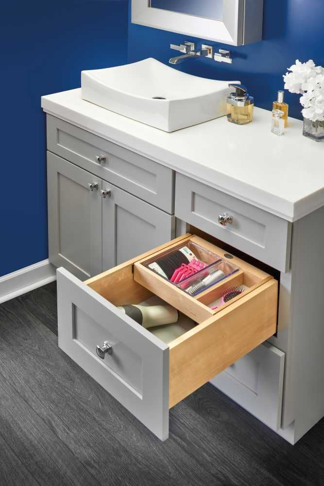 Half Tiered Vanity Drawer Organizer 15''