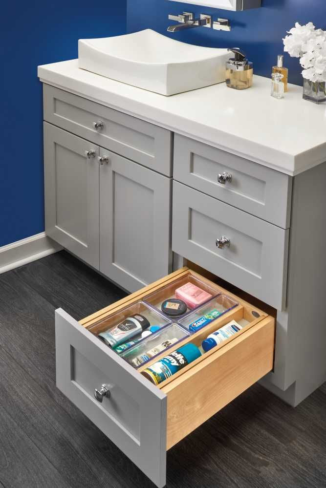 Full Tiered Vanity Drawer Organizer 12''