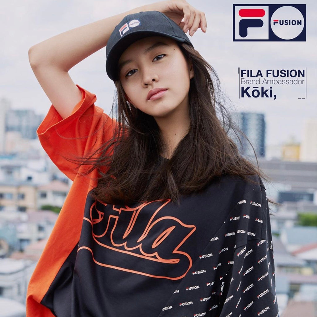FILA FUSION NEW CAMPAIGN VISUAL