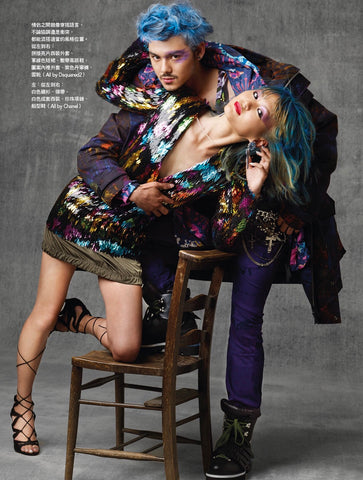 VOGUE TAIWAN yUKI make LESLIE KEE