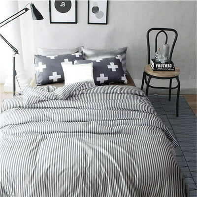100% Cotton Duvet Cover Set King- Luxurious, Comfortable, Breathable, Soft and Durable