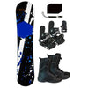 Snowboard & Bindings & Boots & Leash & Stomp Decal Package