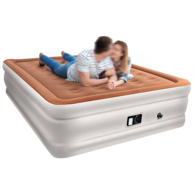 Inflatable Airbed with Internal Electric Pump
