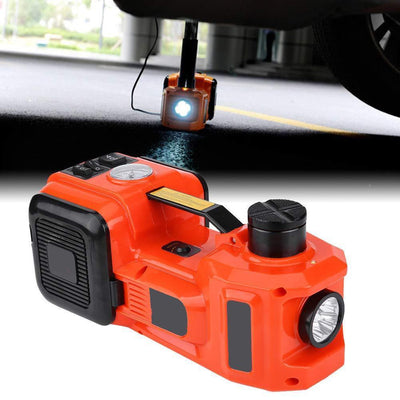 Auto Electric Floor Jack With LED Lamp