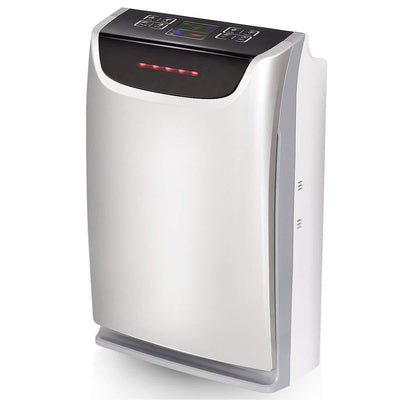 Air Purifier with Filter Carbon Filter,(Grey and Black)