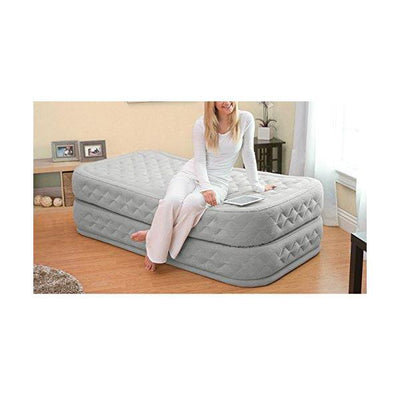 Airbed with Built-in Electric Pump,Twin