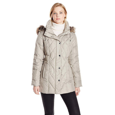 100% Polyester Down Quilted Coat