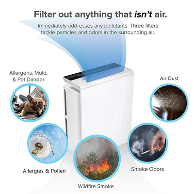 Air Purifier with True Filter for Large Room