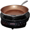Portable Induction Cooktop & 10.5 Inch Pan