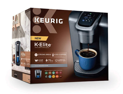 Single Serve K-Cup Pod Coffee Maker, with Strong Temperature Control, Iced Coffee Capability, 12oz Brew Size, Programmable, Brushed Silver