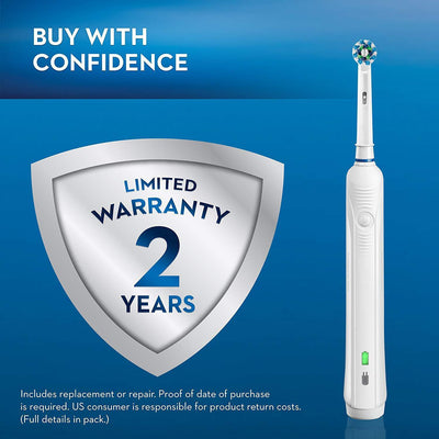 1000 Power Rechargeable Electric Toothbrush